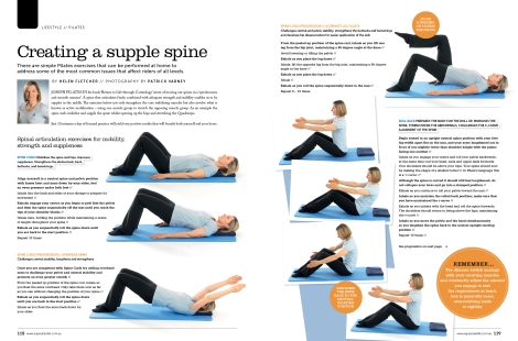 Pilates Roll Back on the Ball and Roll Up